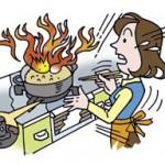 油に引火!消火方法とマヨネーズ対処法!引火点と発火点の違いは?