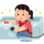 お風呂の掃除の手順は?鏡や蛇口のカビ、水垢、石鹸カスを根こそぎ落とすにはコレ!