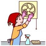 換気扇の掃除の頻度は?掃除方法と便利グッズを紹介!